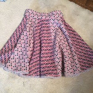 Moth boutique polka dot sweater skirt! Size small